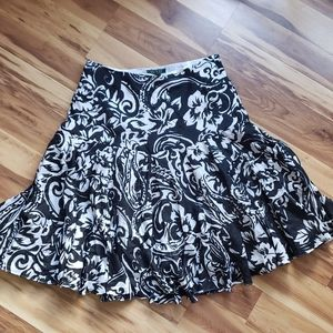 Lauren by Ralph Lauren aline circle ruffle skirt
